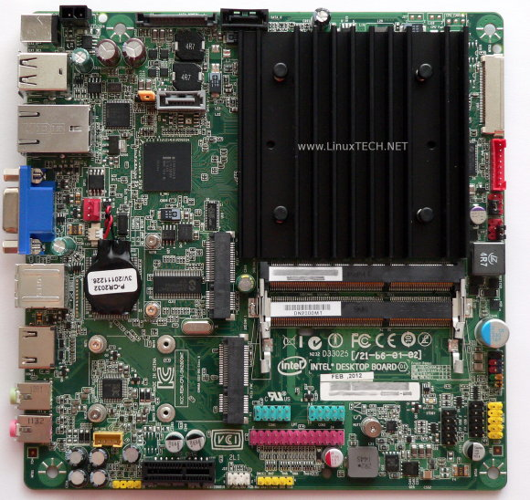 Intel DN2800MT mini-ITX Atom CedarView mainboard
