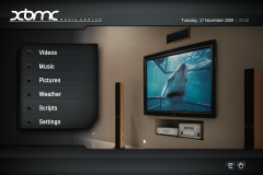XBMC screenshot
